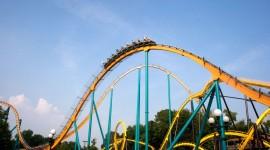 Roller Coaster Desktop Wallpaper
