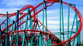 Roller Coaster Wallpaper For PC