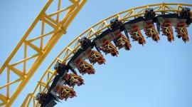 Roller Coaster Wallpaper HD