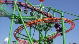 Roller Coaster Wallpaper HQ