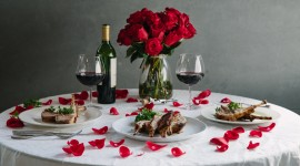 Romantic Dinner Wallpaper 1080p