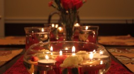Romantic Dinner Wallpaper Download