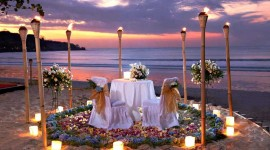 Romantic Dinner Wallpaper For Desktop