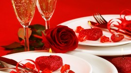 Romantic Dinner Wallpaper For IPhone