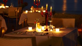 Romantic Dinner Wallpaper Full HD