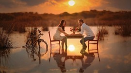 Romantic Dinner Wallpaper Gallery
