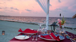 Romantic Dinner Wallpaper HD