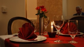 Romantic Dinner Wallpaper High Definition