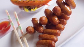Sausages Wallpaper Download Free