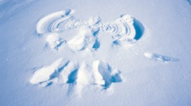 Snow Angel Wallpaper For PC