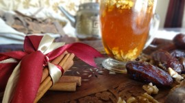Tea With Cinnamon Wallpaper Free