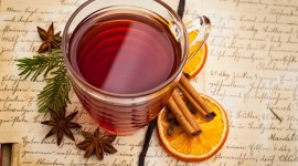 Tea With Cinnamon Wallpaper Full HD