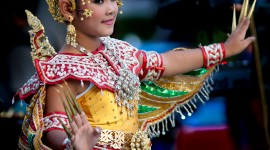 Thai Dance Wallpaper For IPhone