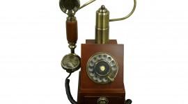 Vintage Phone Desktop Wallpaper For PC