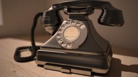 Vintage Phone Desktop Wallpaper HD