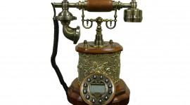 Vintage Phone Wallpaper HQ