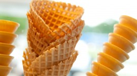 Waffle Cone Wallpaper For Desktop