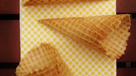 Waffle Cone Wallpaper For Mobile