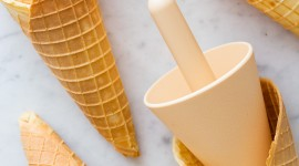 Waffle Cone Wallpaper Free