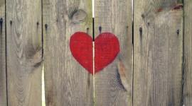 Wooden Heart Wallpaper For Desktop