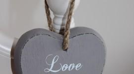 Wooden Heart Wallpaper For Mobile