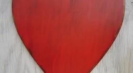 Wooden Heart Wallpaper For Mobile#1