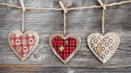 Wooden Heart Wallpaper Free