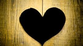 Wooden Heart Wallpaper Full HD