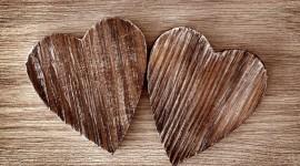 Wooden Heart Wallpaper HQ