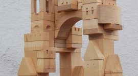 Wooden Toys Wallpaper For IPhone
