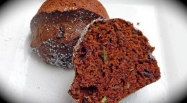 Zucchini In Chocolate Cake Mix Photo