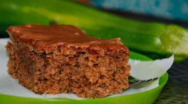 Zucchini In Chocolate Cake Mix Photo Free