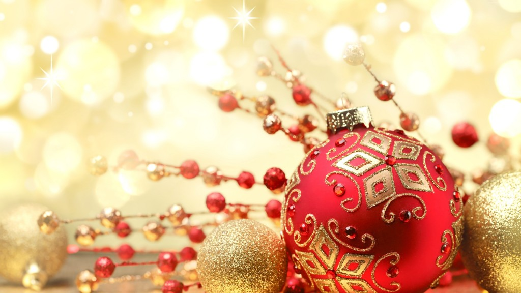 4K Christmas Decorations wallpapers HD