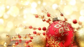 4K Christmas Decorations Best Wallpaper