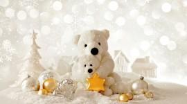 4K Christmas Decorations Desktop Wallpaper
