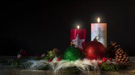 4K Christmas Decorations Photo Free