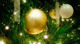 4K Christmas Decorations Wallpaper Full HD