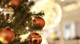 4K Christmas Decorations Wallpaper HQ#1
