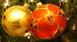 4K Christmas Decorations Wallpaper HQ#2