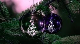 4K Christmas Decorations Wallpaper HQ#3