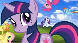 4K My Little Pony Aircraft Picture