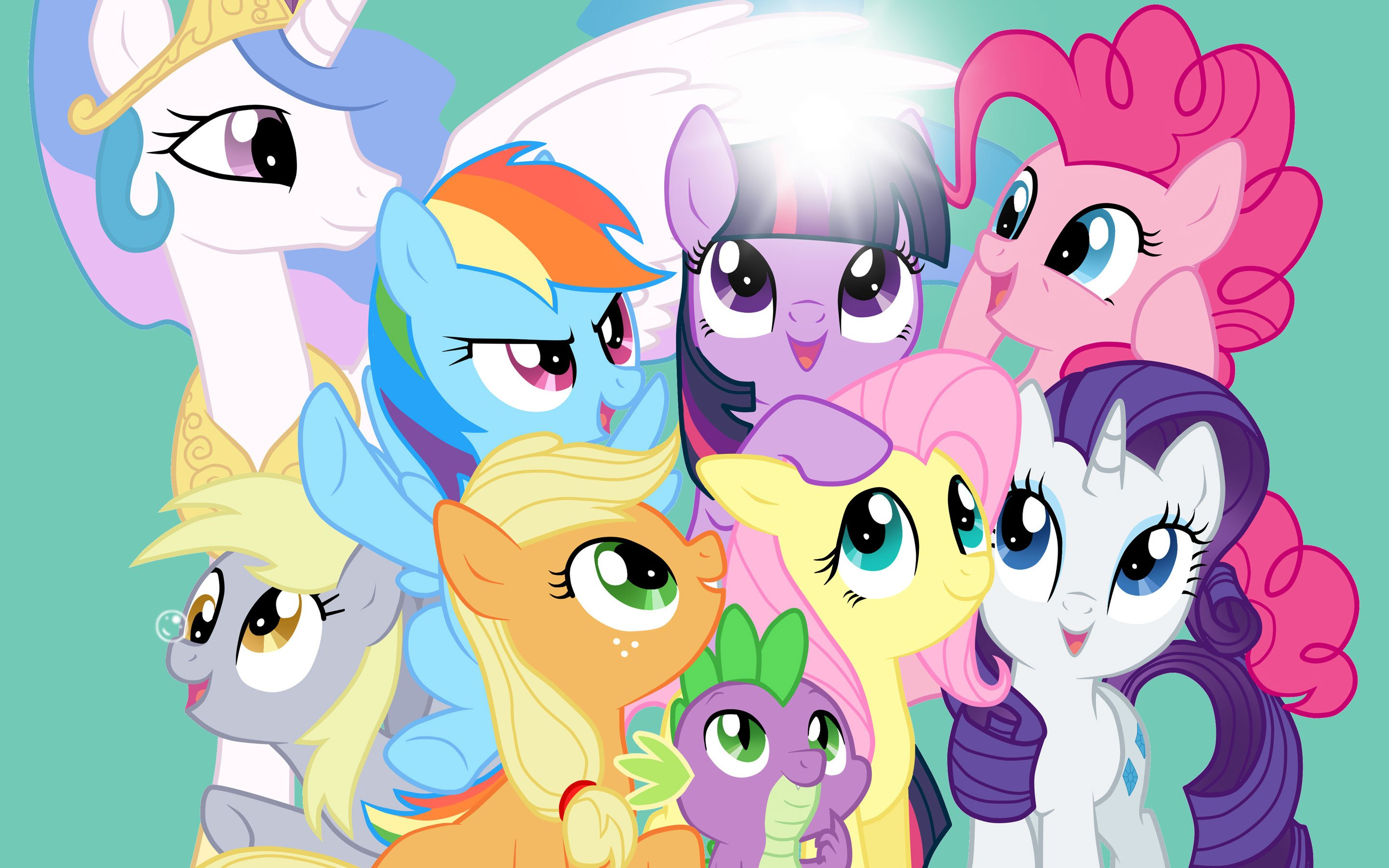My Little Pony Wall Paper: 4K My Little Pony Wallpapers High Quality