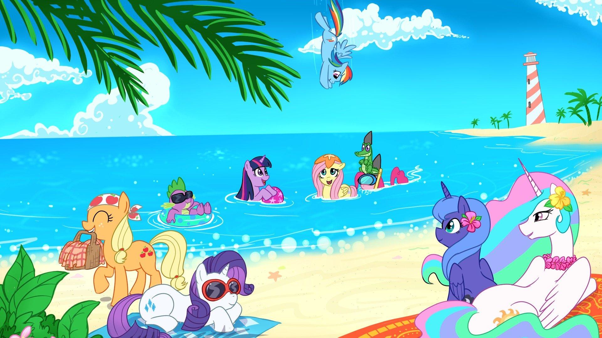 Xbox One X 4k Magic: 4K My Little Pony Wallpapers High Quality