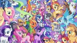 4K My Little Pony Photo