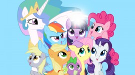 4K My Little Pony Photo Free