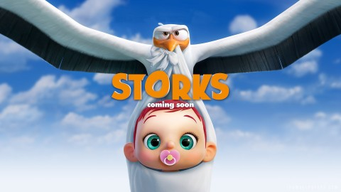 4K Storks wallpapers high quality