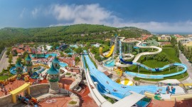 Aquapark Desktop Wallpaper For PC