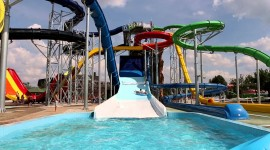 Aquapark Wallpaper For PC