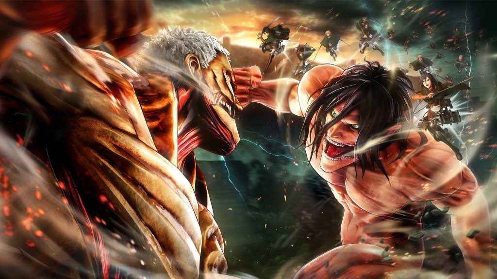 Attack On Titan 2 wallpapers HD