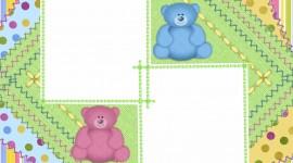 Baby Frames Desktop Wallpaper For PC